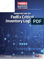 Fedex Mtc Fedex Critical Inventory Logistics 010118