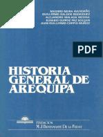 AUTORES VARIOS - Historia General de Arequipa