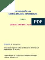 quimica organica heterociclica