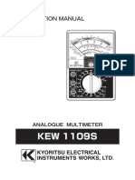 Multimeter Analog Kyoritsu