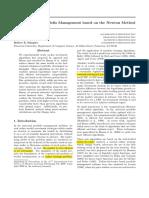 Algorithms for Portfolio Management Based on the Newton Method