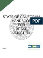 Brake Adjuster Handbook