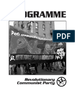 Communist Revolution - Paper by Canadian Revolutionary Congress