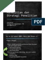 PenelitianDanStrategiPenelitian