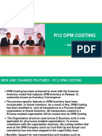 R12 OPM Costing
