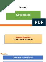 Chapter 3 - Governance