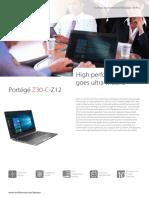 Toshiba Portege Z30 C Z12 Web