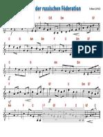 Russische Nationalhymne (Leadsheet)