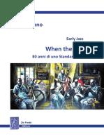 Early Jazz - WHEN THE SAINTS , 80 anni di uno Standard del Jazz