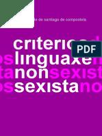 Linguaxe Non Sexista