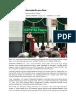 Budaya Demokrasi Masyarakat Di Jawa Barat