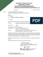 Und.verifikasi Pengadaan Gedung Kantor Dinas Perkebunan(Lelang Ulang)