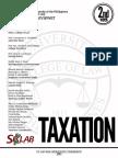 186061368 UP Bar Reviewer 2013 Taxation