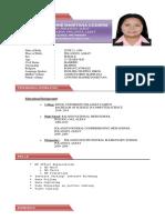 Fausthine Anne Coderis Resume