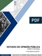 Synopsis Encuesta Imagen Macri