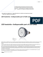 LED Heatsinks—Indispensable Part of LED Lamp - Pin Fin Heat Sink _ LED Heat Sink _ LED Cooler