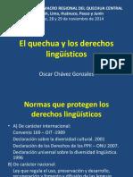 El Quechua y Los Derechos Lingüístico