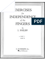 Collection of Isidor Philippe's technical studies