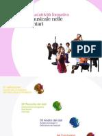 Progettazione di un'attività formativa - Educazione musicale nelle scuole elementari