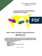 Worldwide Harmonized Heavy Duty Emissions