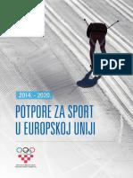 BROSURA Potpore Za Sport u EU 2015