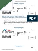 Demo flight tickets