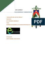 ECUADOR ESTRATEGICO