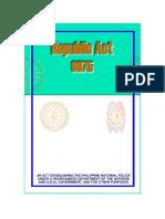 Ra 6975- Dilg Act of 1990