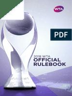 2018 - WTARulebook