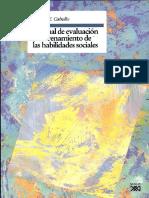Caballo Vicente Manual de Evaluacion y Entrenamiento de Las Habilidades Sociales PDF