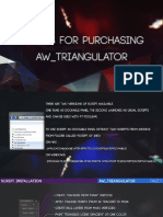Aw Triangulator Manual