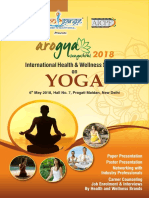 International Arogya Sangoshthi - 2018 (International Yoga Seminar)