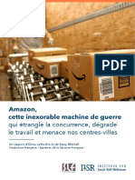 Amazon, cette inexorable machine de guerre - rapport FR