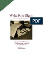 Write Rite Right
