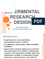 experimentalresearchdesign-130507230815-phpapp01