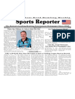 March 21 - 27, 2018  Sports Reporter