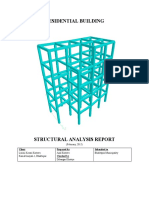 Building Model_ Structuaral Analysis Report