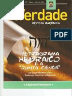 Revista A Verdade - O Tetragrama Hebraico e a Quinta Ciencia.pdf