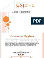 Economic Systems - Unit 1