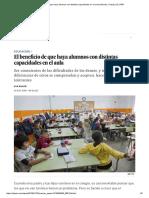 Beneficio Distintas Capacidades en El Aula _ EL PAÍS