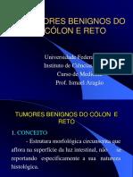 Tumores Benignos de Cólon e Reto