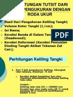 Perhitungan Tutsit Ru