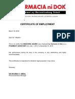 Pharmacy Certification