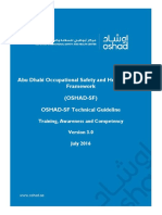 OSHAD-SF - TG - Training and Awareness and Competency v3.0 English