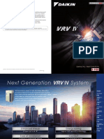 Daikin Vrv IV Catalogue Updated