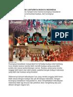 Penyebab Lunturnya Budaya Indonesia