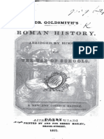Dr Goldsmith's Roman History Abridged