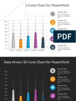 FF0095 01 Free 3D Cone Chart Powerpoint 4x3