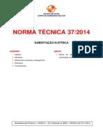 Nt 37 2014 Subestacao Eletrica