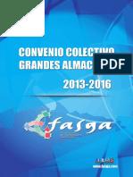 Convenio Colectivo Grandes Almacenes 2013 2016